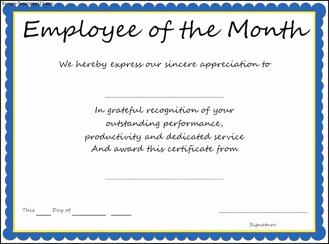 Attendance Certificate format for Employees Inspirational Template Certificate attendance Template
