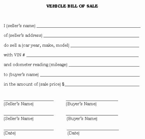 Auto Bill Of Sale Georgia New Bill Sale Alabama