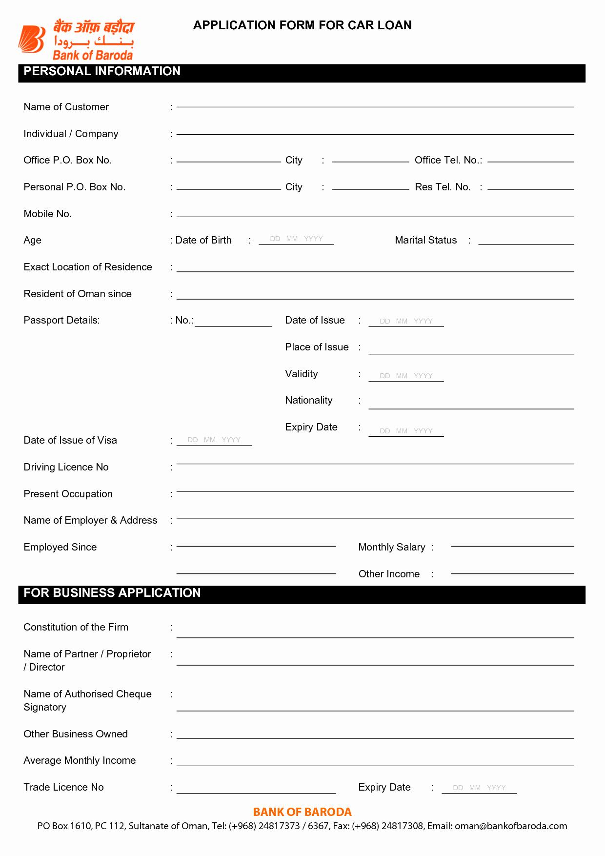 Auto Credit Application form Template Elegant Car Finance for Bad Credit Leeds