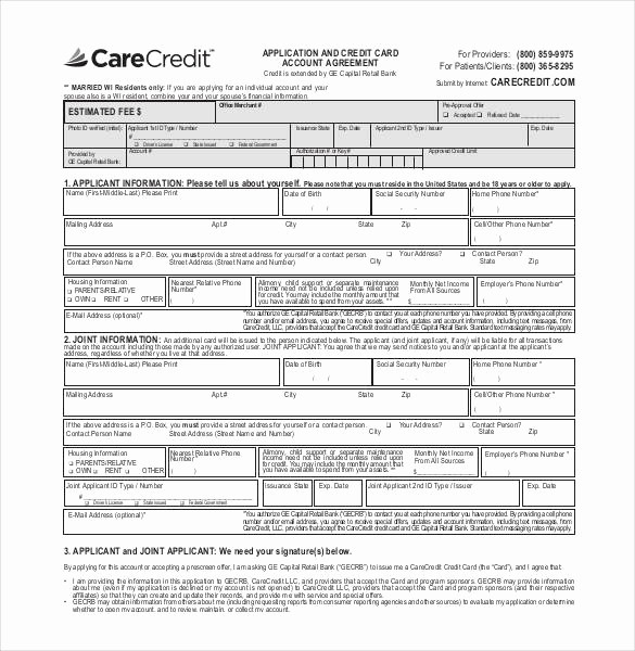 Auto Credit Application form Template Lovely Credit Application Template 33 Examples In Pdf Word