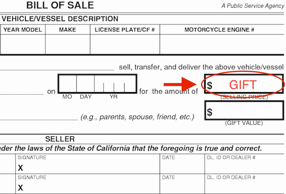Automobile Bill Of Sale Ma Inspirational Affidavit Motor Vehicle Gift Transfer Impremedia