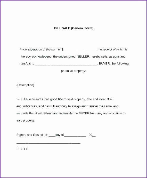 Automotive Bill Of Sale California New Bill Sale Car Automobile Template Alabama – Grnwav