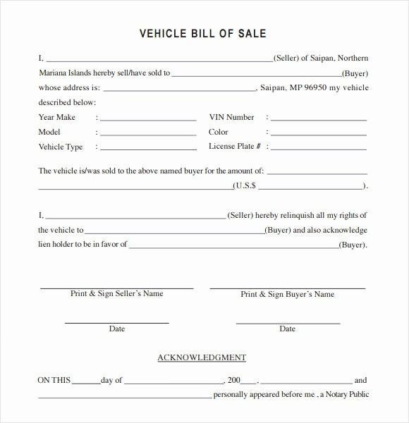 Automotive Bill Of Sale Colorado Fresh 15 Bill Of Sale Colorado Car