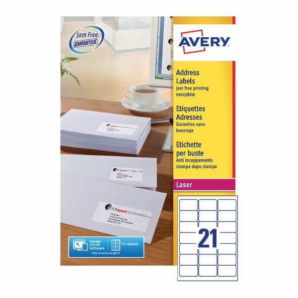 Avery 2 Labels Per Sheet Best Of Avery Address Laser Labels 21 Labels Per Sheet 100