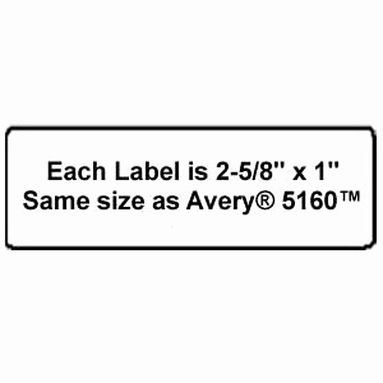Avery 2 Labels Per Sheet Elegant Buy High Quality Name and Address Mailing Labels 30