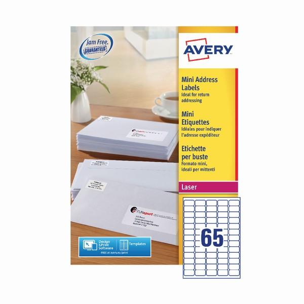 Avery 2 Labels Per Sheet Inspirational Avery Laser Inkjet Mini Address Labels 65 Labels Per Sheet
