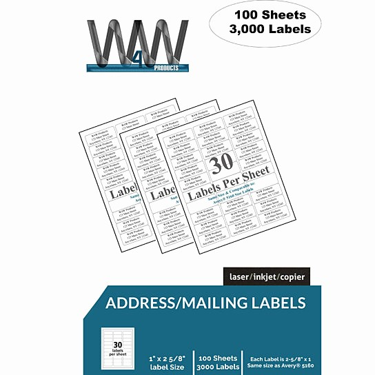 Avery 30 Per Sheet Labels Best Of Buy High Quality Name and Address Mailing Labels 30