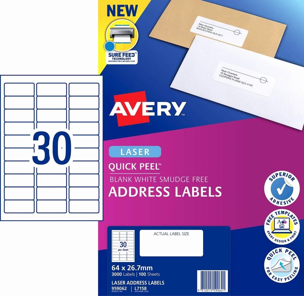 Avery 30 Per Sheet Labels Lovely Avery 30 Labels Per Sheet Template Invoice