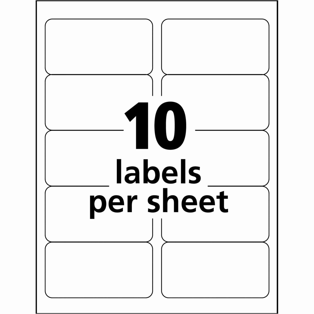 Avery 30 Up Labels Template New Avery Template 30 Labels Per Sheet