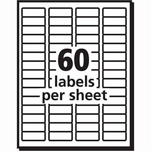 Avery 4 Labels Per Page Awesome Avery Easy Peel Inkjet Return Address Labels 2 3 X 1 3 4