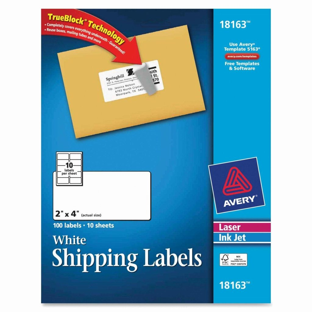 Avery 4 Labels Per Page Awesome Label Template 10 Per Sheet