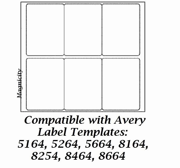 Avery 5164 Shipping Label Template Beautiful Avery Shipping Label Template 8164