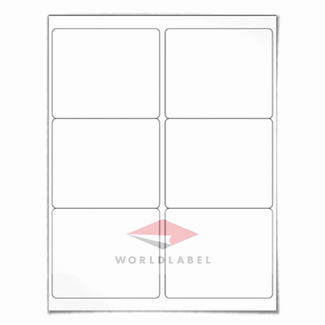 "Avery 5164 Shipping Label Template Best Of 600 Labels 4 X 3 33"" Blank Shipping Labels Uses Avery"