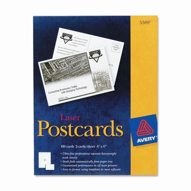 avery 5389 post card prd1
