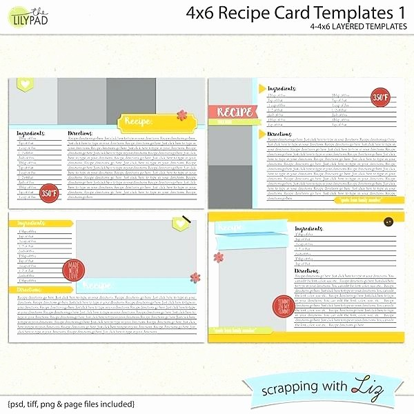 Avery 5389 Template for Word New Avery Recipe Card Template Free Printable for Word 5389