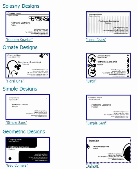 Avery 5871 Business Cards Template Inspirational Business Card Land – Free Line Business Cards Design