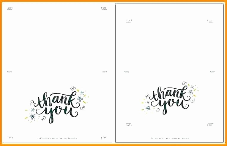 Avery 5877 Template for Word Beautiful Avery Thank You Card Template Printable Free Business