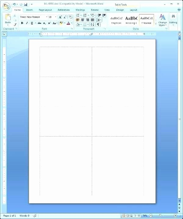 Avery 5877 Template for Word Best Of Template Graph Present Day Portray Ic Strip for