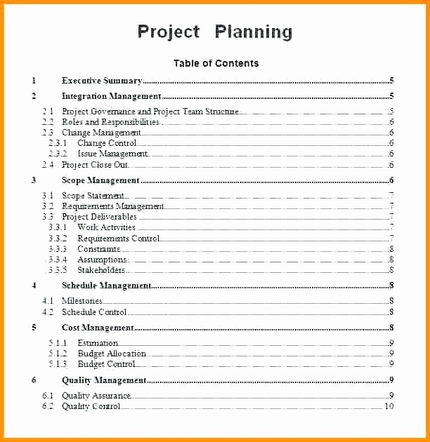 Avery 5877 Template for Word Fresh Planning Statement Template Project Plan Word Sample 2 6 M