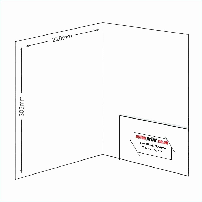 Avery 5877 Template for Word Lovely Pocket Folder Template Business Card and Slits