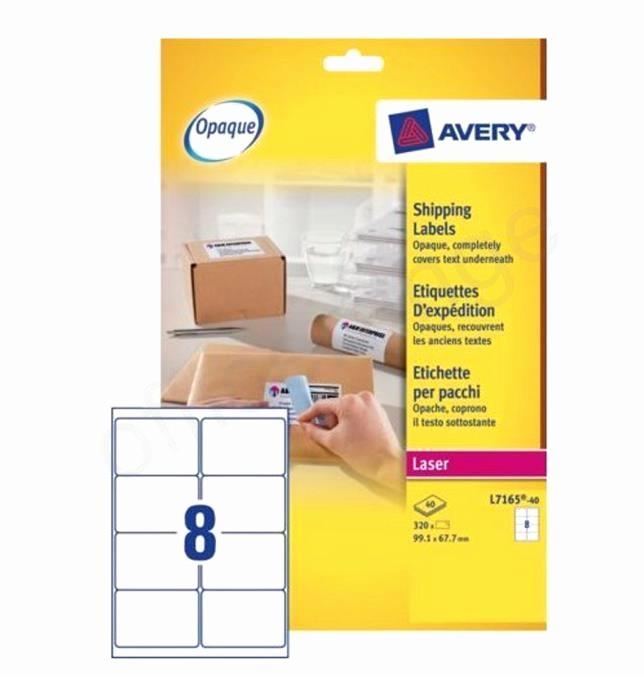 Avery 8 Labels Per Sheet Luxury Avery Addressing Labels Laser Jam Free 8 Per Sheet 99 1x67