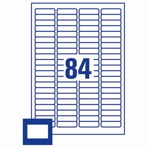 Avery 8 Labels Per Sheet New Avery 35mm Slide Labels 84 Per Sheet L7656 25 2100