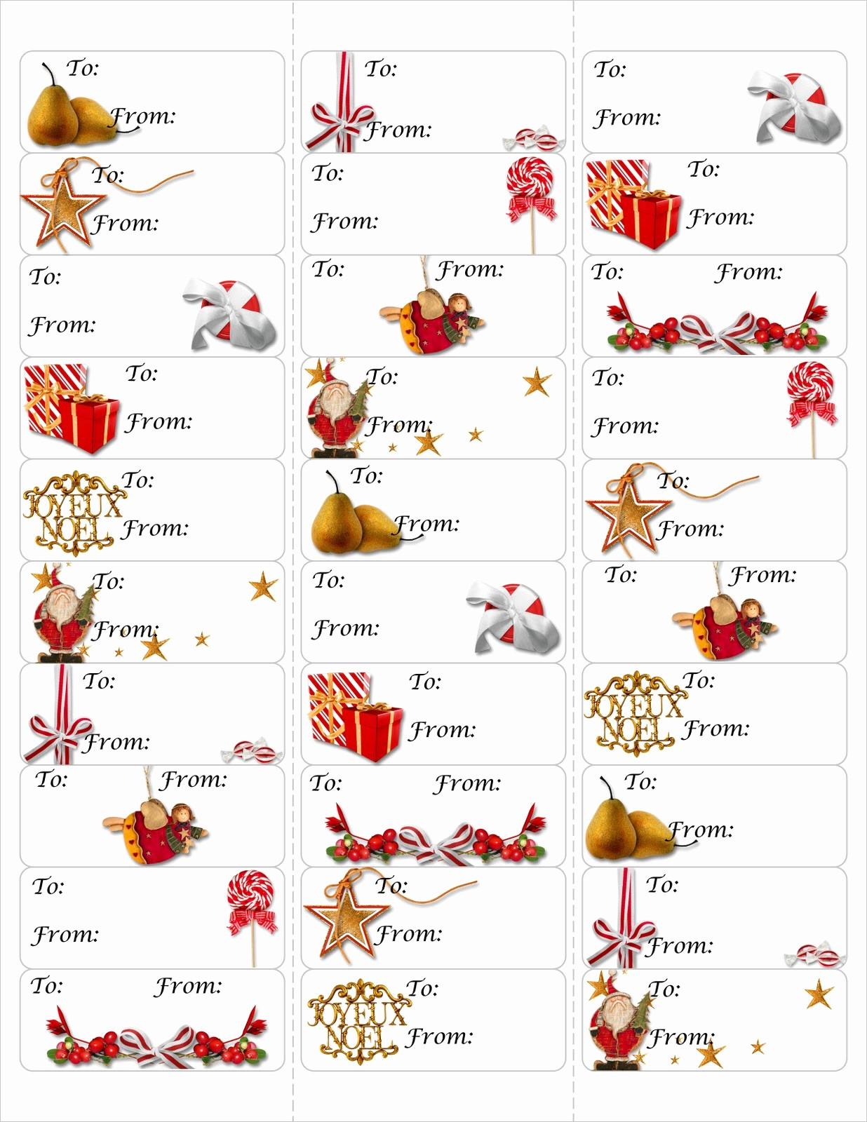 Avery 8160 Christmas Gift Labels Elegant True Taggin Love Free Christmas Gift Tag Printable