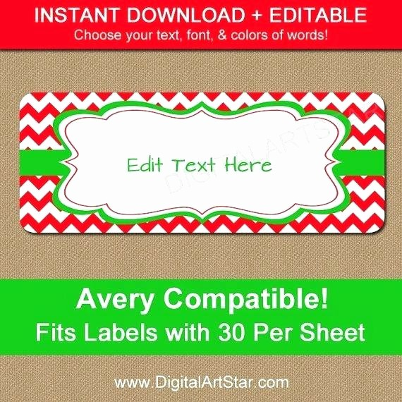Avery 8160 Christmas Gift Labels Luxury Address Labels Colorful In A Template Ready to Avery 5160