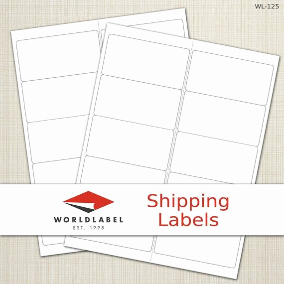 "Avery 8163 Template for Pages Best Of Items Similar to 4 X 2"" White Matte Labels 100 Sheets"