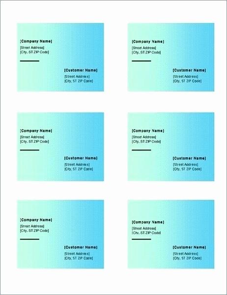 Avery 8167 Template Word 2007 Best Of Avery Template 5167 Blank Free Return Address Label