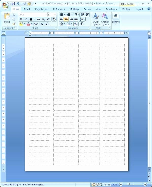 Avery 8167 Template Word 2007 Fresh Avery 8167 Microsoft Word Template Avery Microsoft Word