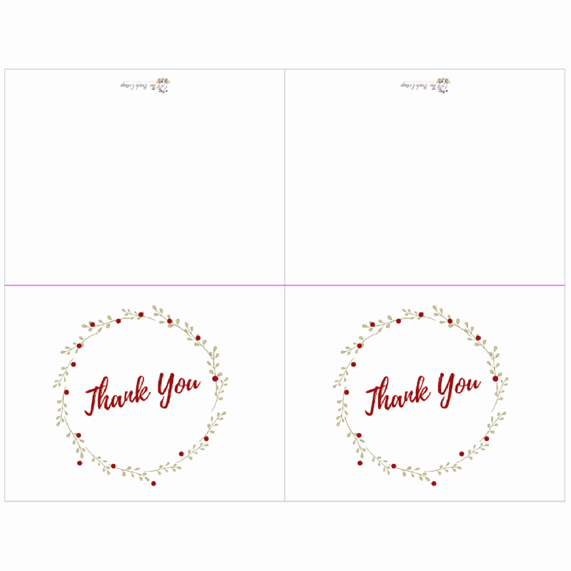Avery 8315 Note Cards Template Best Of Saying Thank You Just Got Easier with Printable Thank You
