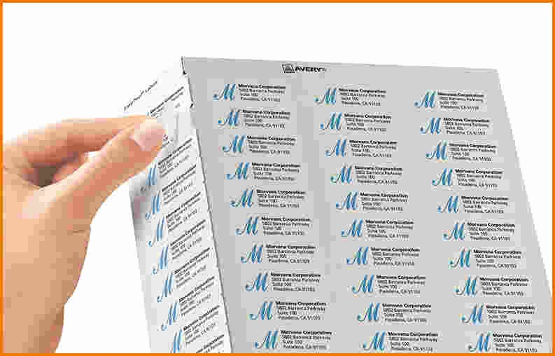 Avery 8315 Template for Mac Awesome Label Template Mac