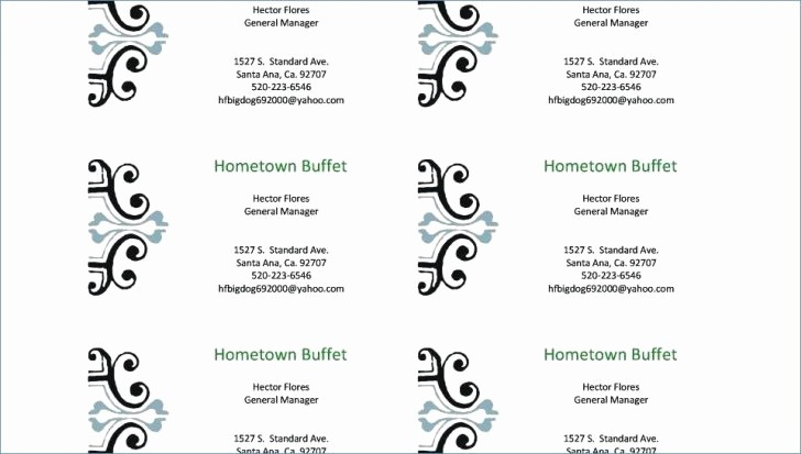 Avery 8871 Template for Word Awesome Pages Avery Template 8871 Business Card Tulsalutheran
