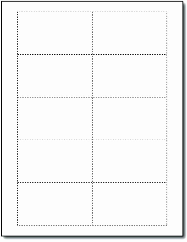 Avery 8871 Template for Word Beautiful Blank Template for Business Cards – Takesdesign