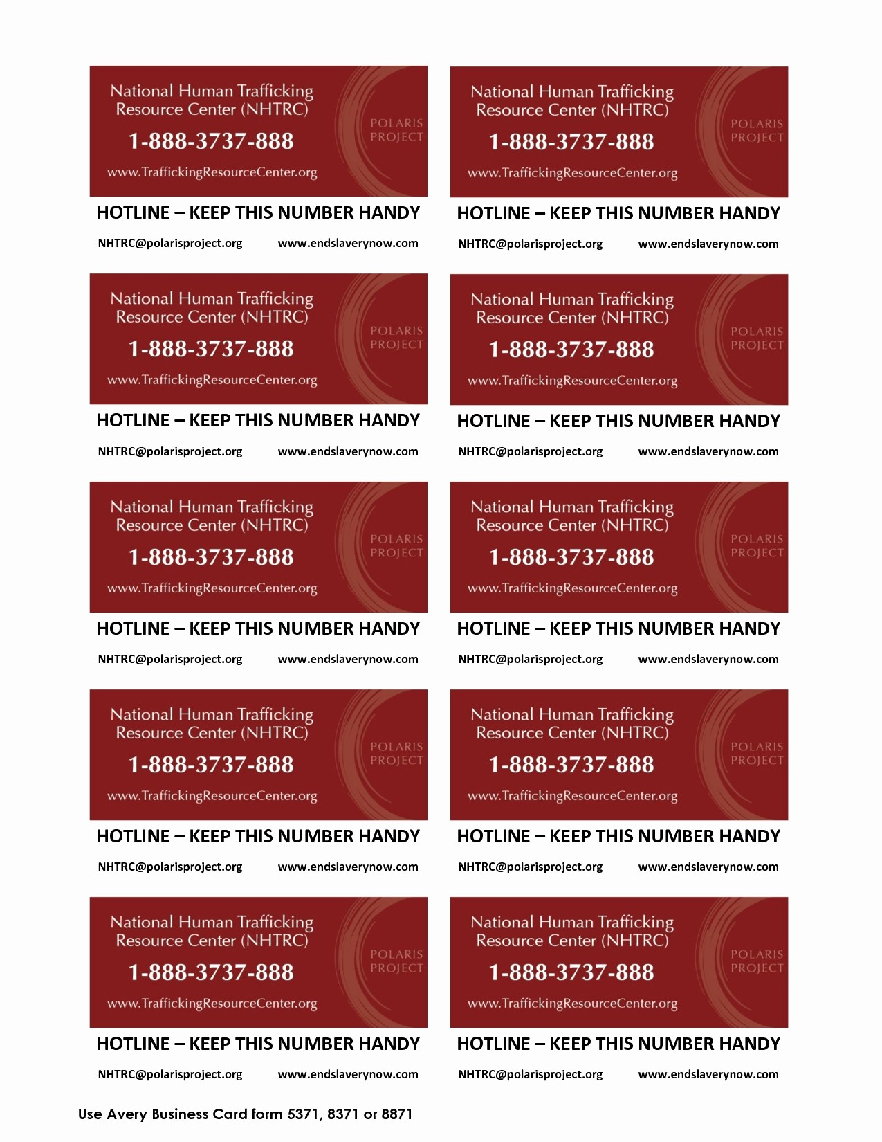 Avery 8871 Template for Word Fresh 11 Fresh Avery Templates 8371 Business Cards Pics
