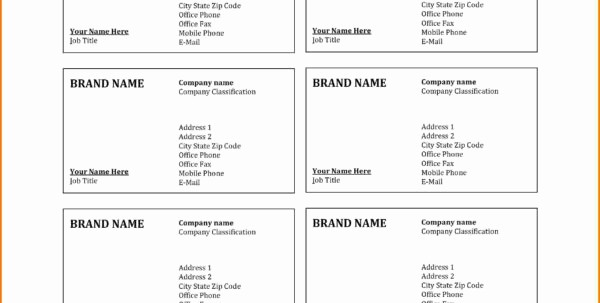 Avery Business Card Template 28878 Elegant Unique 34 Avery Business Card Templates Barber Business