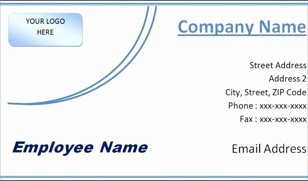 Avery Business Card Template 8859 Lovely Modern Business Card Template 8371 Wordpress