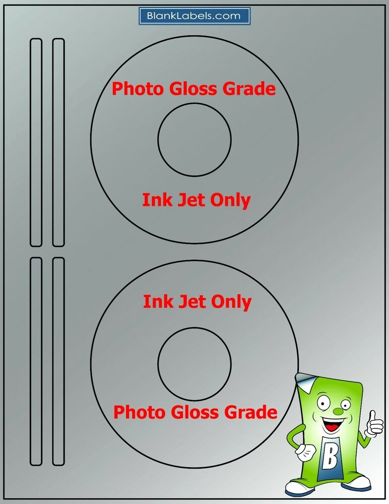 Avery Cd Label Template 5931 Fresh 100 Photo Glossy Ink Jet Labels Fits Size 5931 50