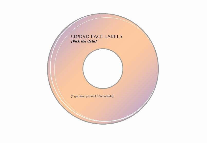 Avery Cd Label Template 5931 Fresh Patible with Avery Cd Label Template 5931