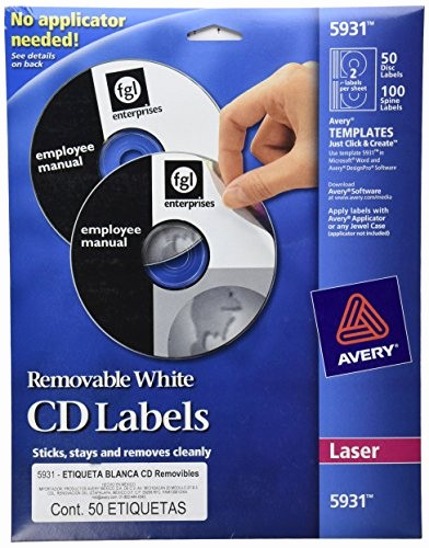 Avery Cd Label Template 5931 New Avery Laser Labels Shuttered Jewel Case Inserts with