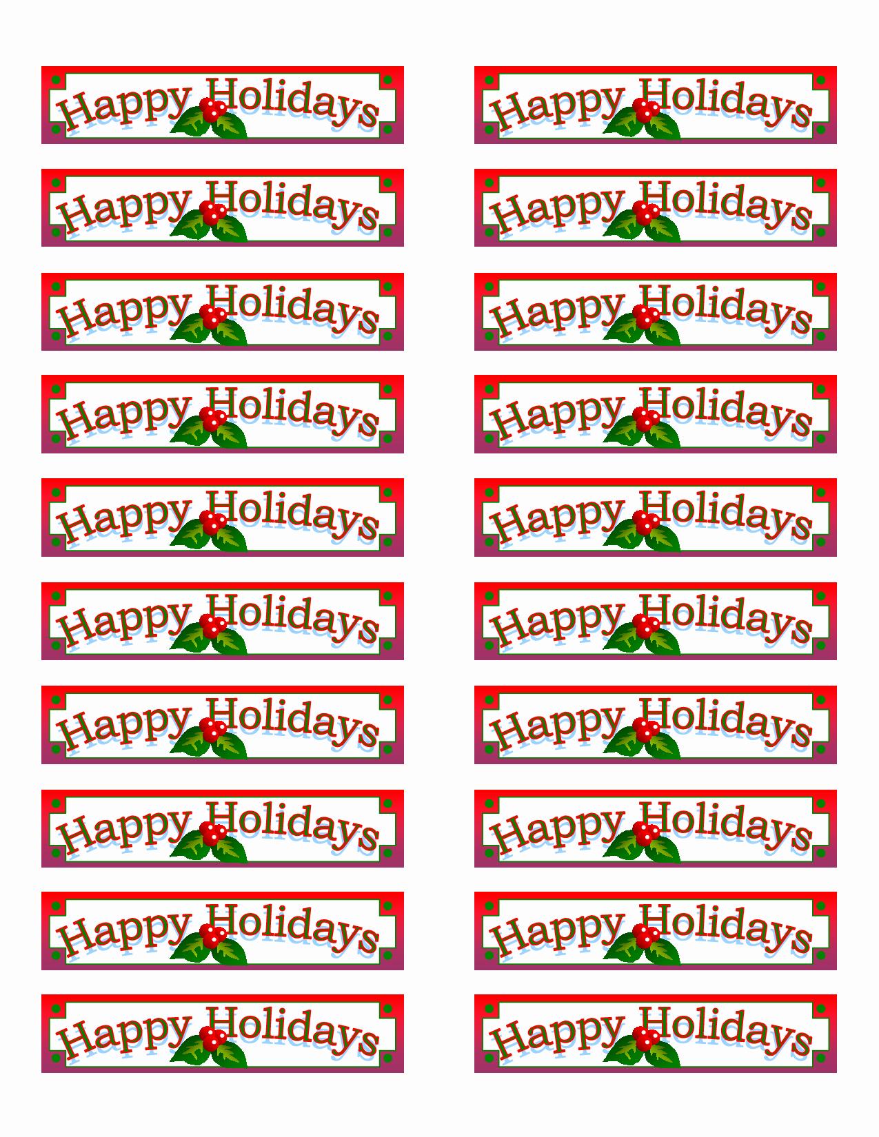 Avery Holiday Return Address Labels Beautiful Christmas Return Address Labels Template Avery 5160 top