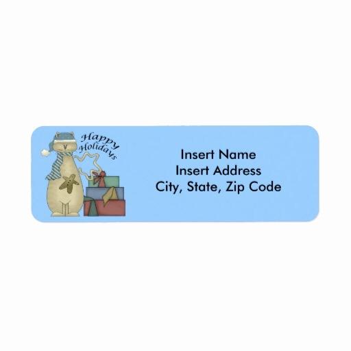 Avery Holiday Return Address Labels Inspirational Christmas Avery Address Label