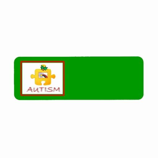 Avery Holiday Return Address Labels Lovely Autism Christmas Avery Label Return Address Label