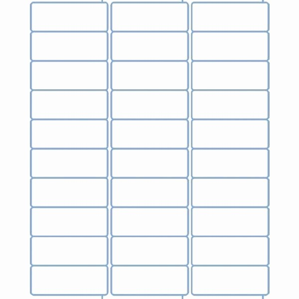 Avery Label 10 Per Page Awesome Avery Name Tag Template 30 Per Sheet 1 X 2 5 8 Label Word