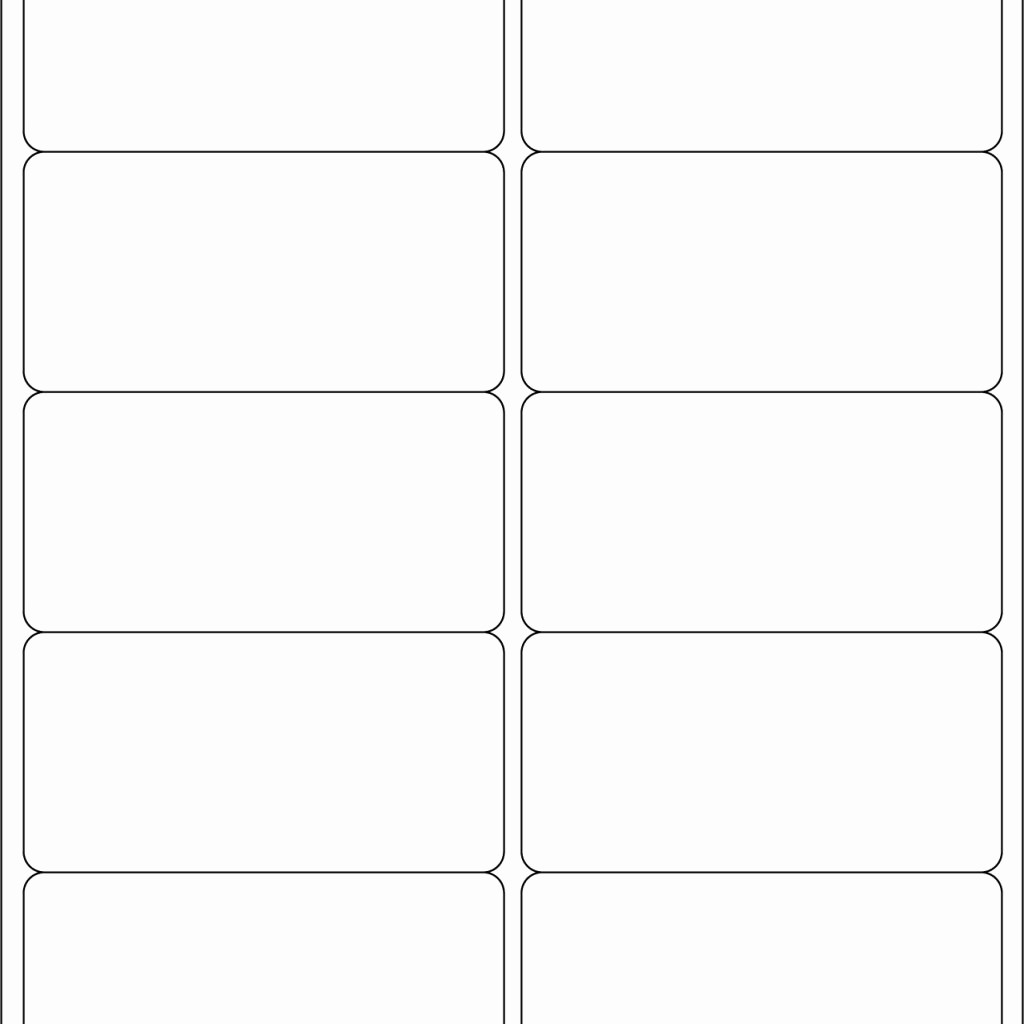 Avery Label 10 Per Page Best Of Avery Label Template 8163 Avery 8163 White Inkjet 2x4