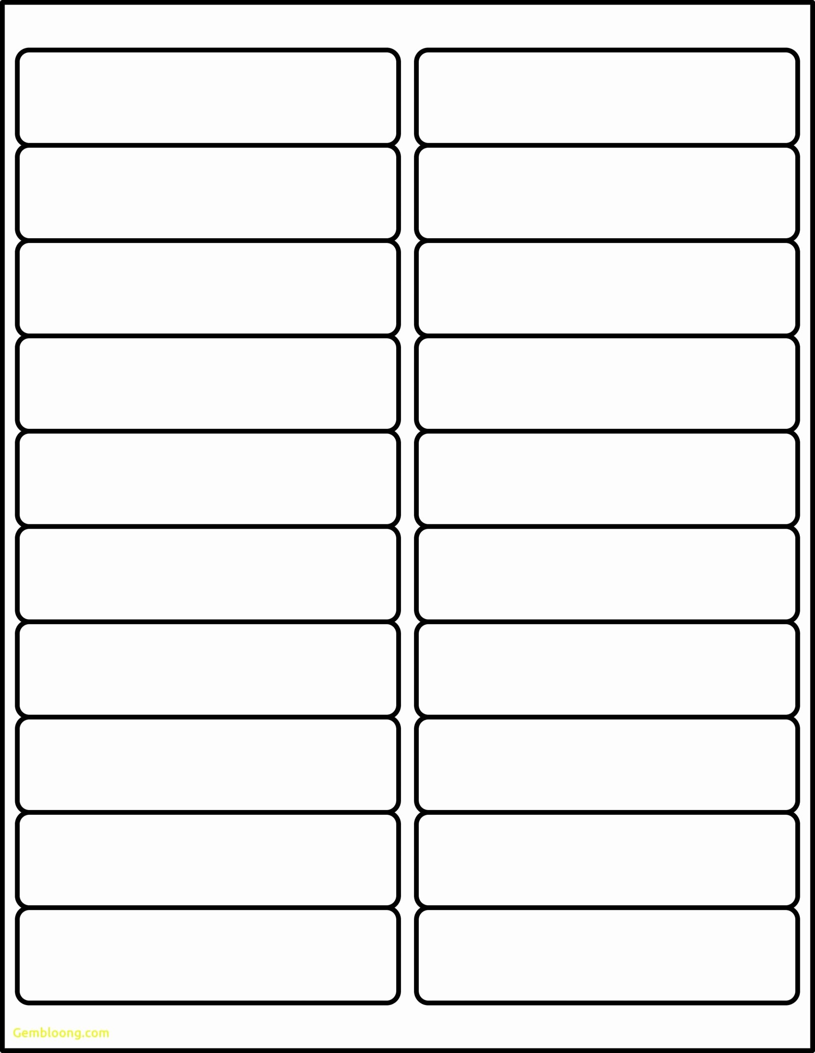 Avery Label 30 Per Sheet Elegant Labels Per Sheet Template Excel Avery Xerox Address