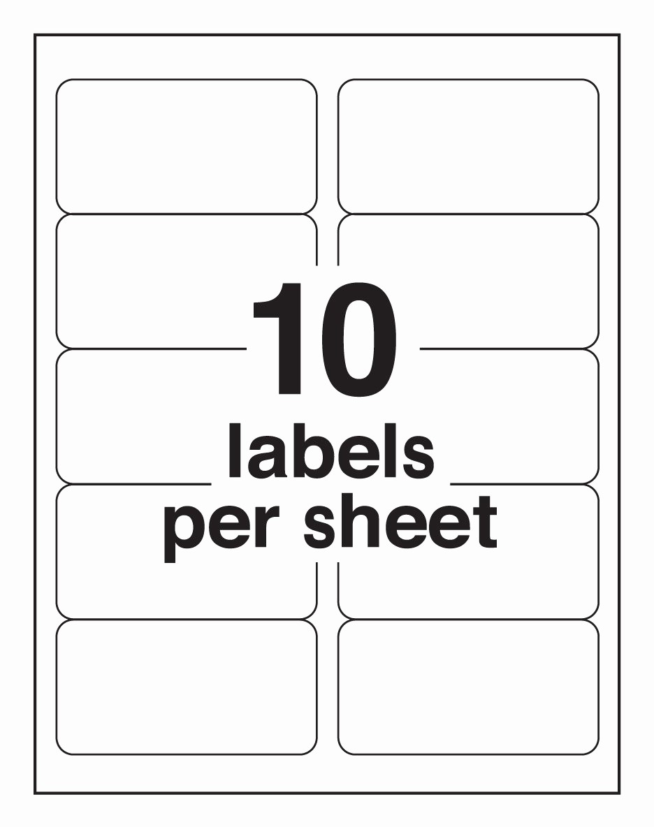 post avery label sheet template
