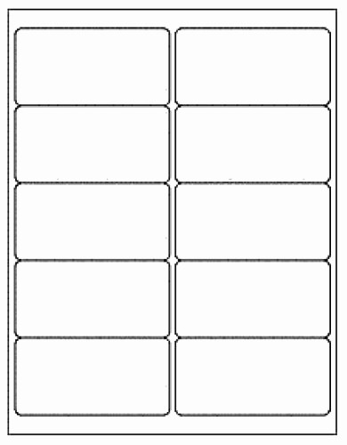 Avery Label 5163 Template Free Elegant Buy 1000 Generic White Self Adhesive Mailing Labels 2 X 4