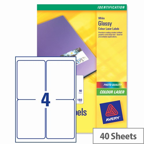 Avery Label 6 Per Page Best Of Avery L7769 40 Address Labels Colour 4 Per Sheet 139 X 99